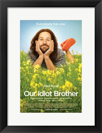 Framed Our Idiot Brother Print