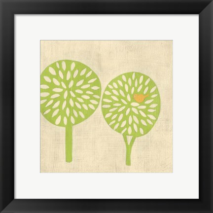 Framed Best Friends- Trees Print