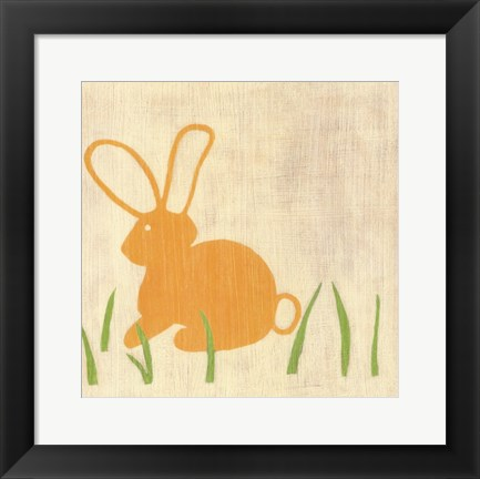 Framed Best Friends- Bunny Print