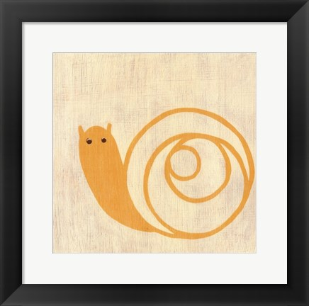 Framed Best Friends- Snail Print