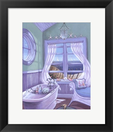Framed Coastal Breeze II Print