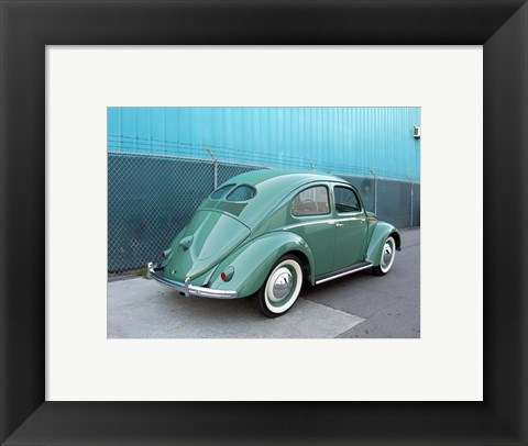 Framed 1949 VW Beetle Print