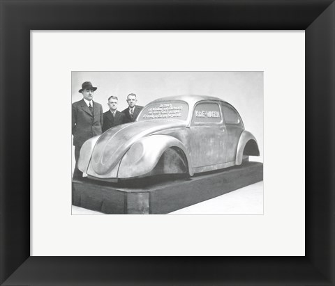 Framed Automotive KDF-Wagen Print