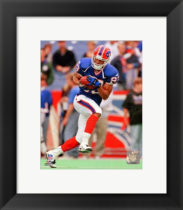 Framed Andre Reed Action Print