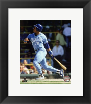 Framed Bo Jackson Action Print