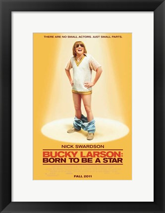 Framed Bucky Larson: Born to Be a Star Print
