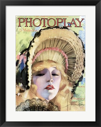 Framed Photoplay August 1920 Print