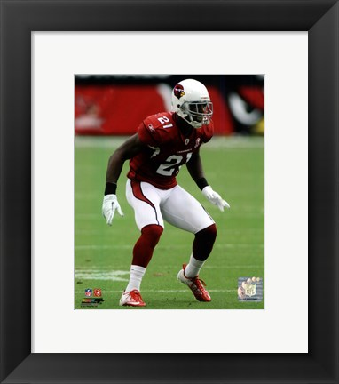 Framed Patrick Peterson 2011 Action Print