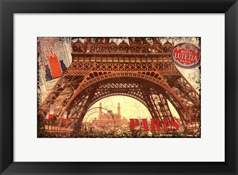 Framed European Travels I Print