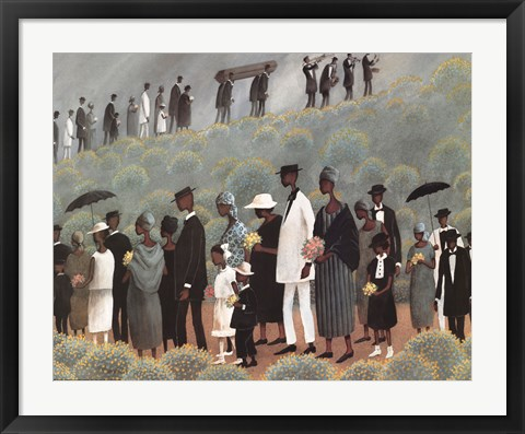 Framed Funeral March Print