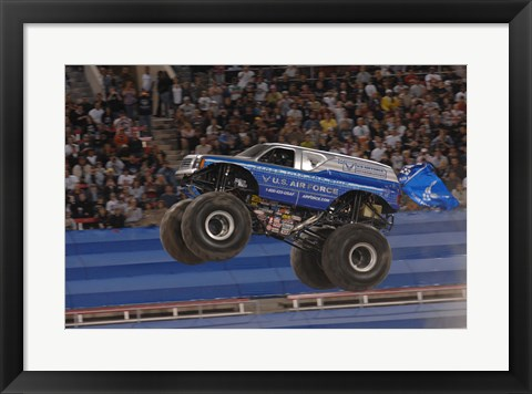 Framed USAF Afterburner Monster Jam Print
