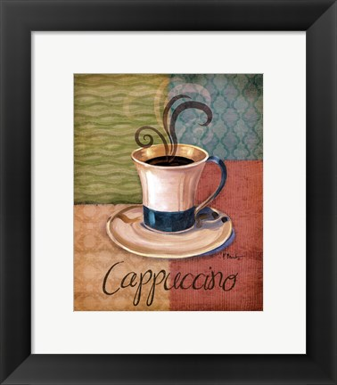 Framed Quattro Coffee I-mini Print