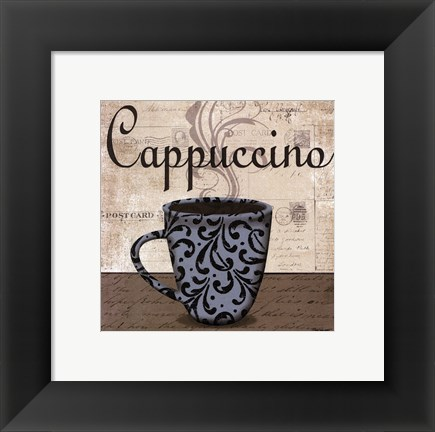 Framed Cappuccino - petite Print