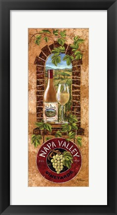 Framed Napa Valley Print