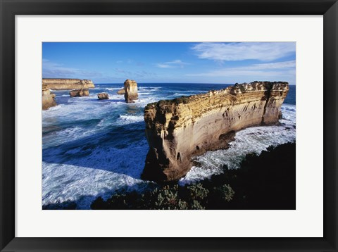 Framed Port Campbell National Park Victoria Australia Print