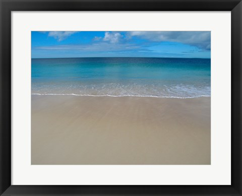 Framed Panoramic view of a sea, Eyre Peninsula, Australia Print