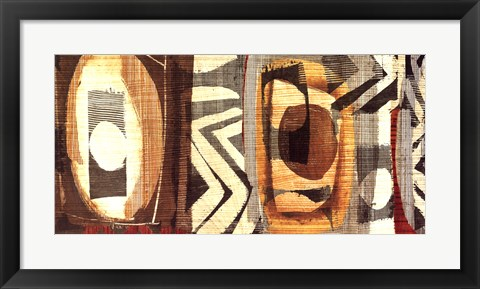 Framed Graphic Abstract II Print
