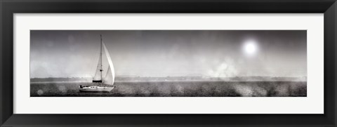 Framed Lake Sail Print