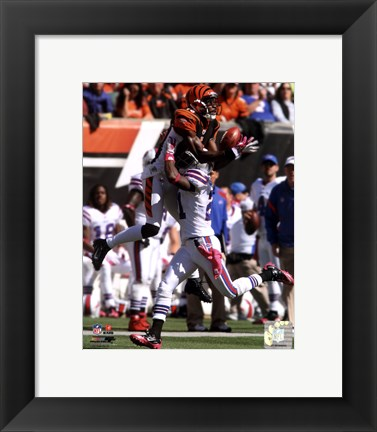 Framed A.J. Green 2011 Catch Print