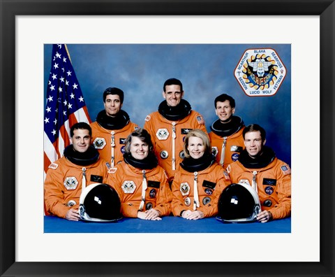 Framed STS 58 Crew Print