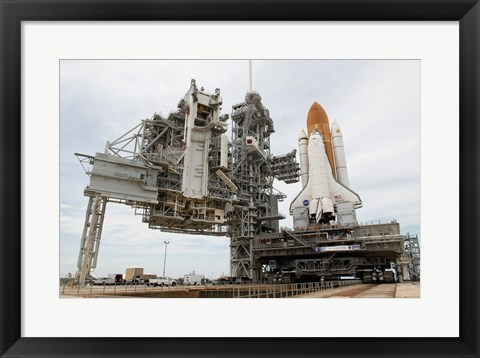 Framed Main Launch Pad Print