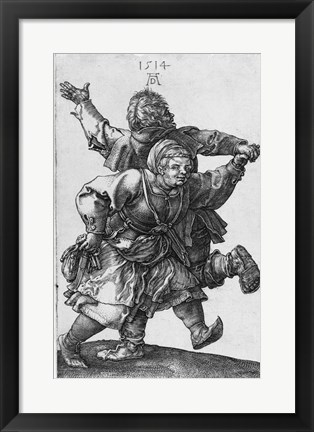 Framed Peasants Print