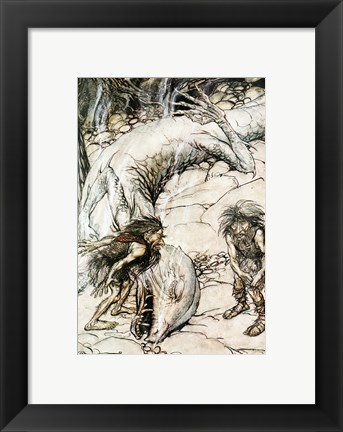 Framed Siegfried and the Twilight of the Gods Print