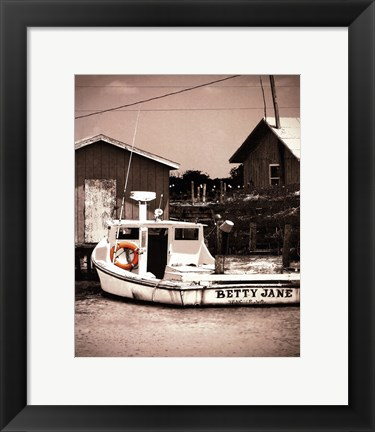 Framed Crab Shack 2 Print