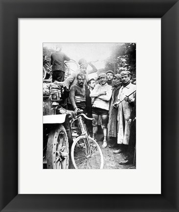Framed First Tour de France 1903 Print