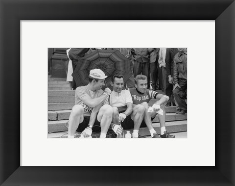 Framed Tour de France 1963 Print
