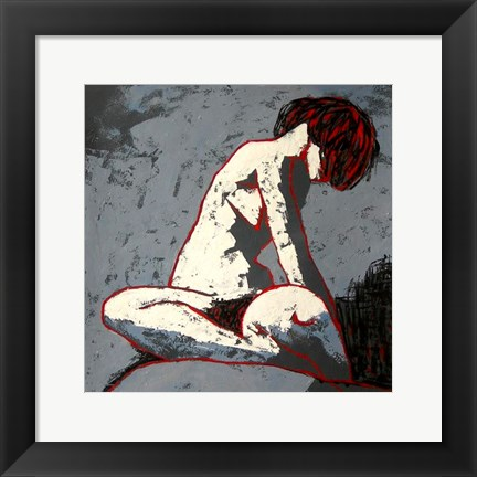 Framed Figure Study Print