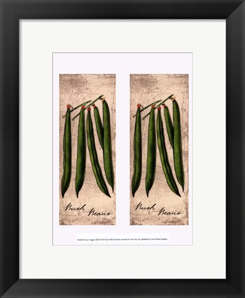 Framed Fresco Veggies XIII Print