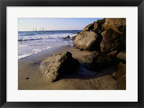 Framed Atlantic City New Jersey USA Print