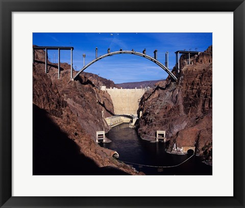 Framed Hoover Dam Bypass Bridge Print
