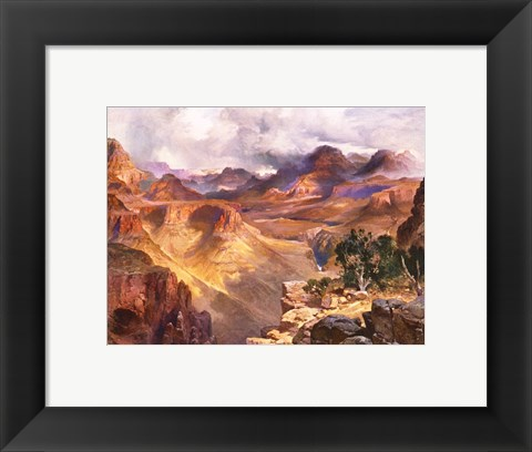Framed Grand Canyon of the Colorado Print