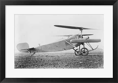 Framed Berliner Helicopter Print