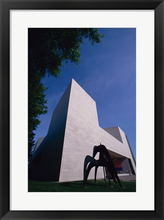 Framed Facade of the National Gallery of Art, Washington, D.C., USA Print
