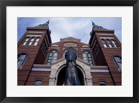 Framed Low angle view of the Arts and Industries Building, Washington, D.C., USA Print