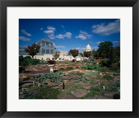 Framed Bartholdi Park Washington, D.C. USA Print