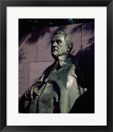 Framed Franklin Delano Roosevelt Memorial Washington, D.C. USA Print