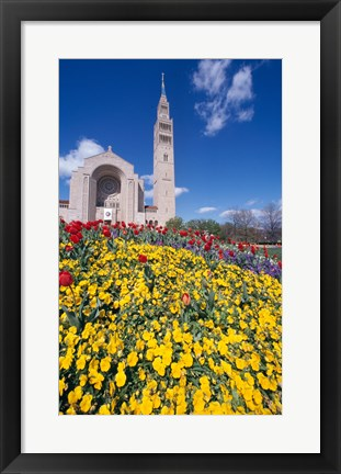 Framed USA, Washington DC, Basilica of the National Shrine of the Immaculate Conception Print