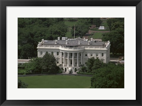 Framed White House Washington, D.C. USA Print