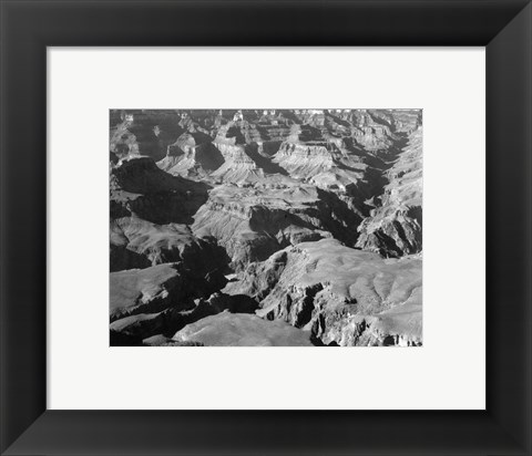 Framed Grand Canyon canyon and ravine Print