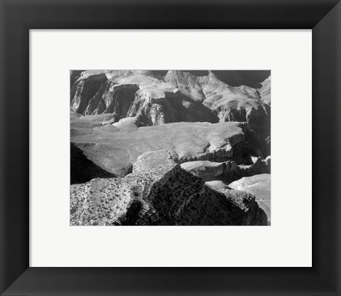 Framed Grand Canyon National Park from Yava Point Print