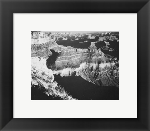 Framed Grand Canyon National Park Arizona, 1933 Print