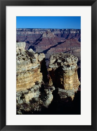Framed Rock Formations at Grand Canyon National Park Print