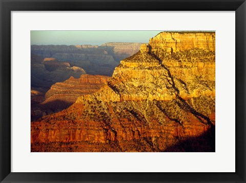 Framed Grand Canyon National Park, Arizona (close-up) Print