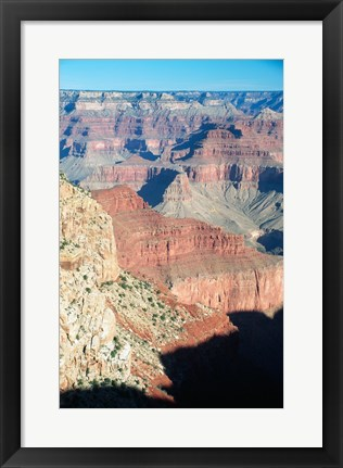 Framed Colorful View of the Grand Canyon Print