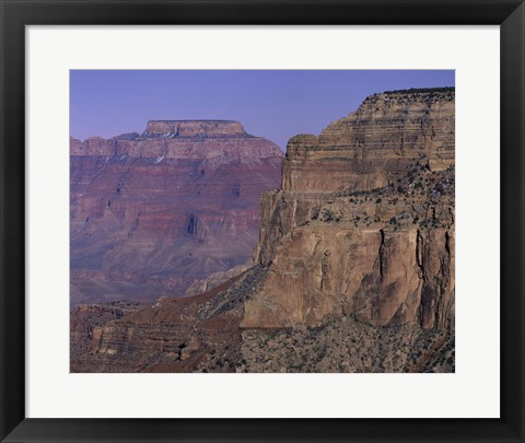 Framed Yaki Point Grand Canyon National Park Arizona USA Print