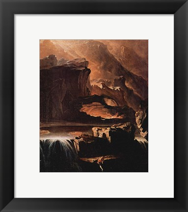 Framed Sadak Climbing in Search of the Waters of Oblivion Print